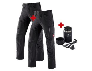 SET: Cargohose+Winter Cargohose e.s.vision stretch