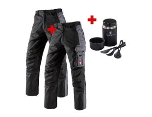 SET: 2x Bundhose e.s.active