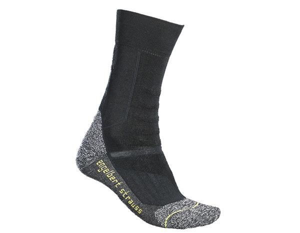 Socken | Strümpfe: e.s. Allround Socken Function light/high + schwarz