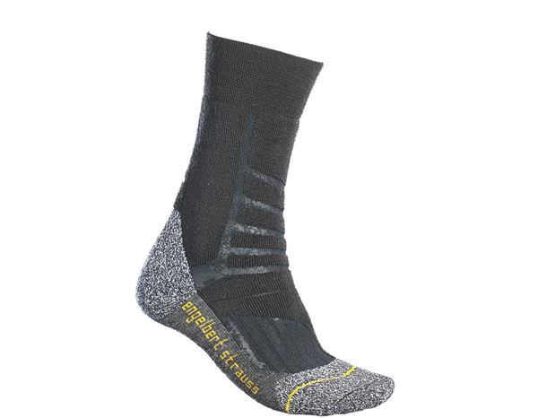 e.s. Allround Socken Function warm/high schwarz