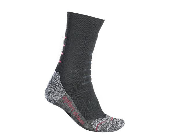 e.s.Allround Socken Function x-warm/high schwarz