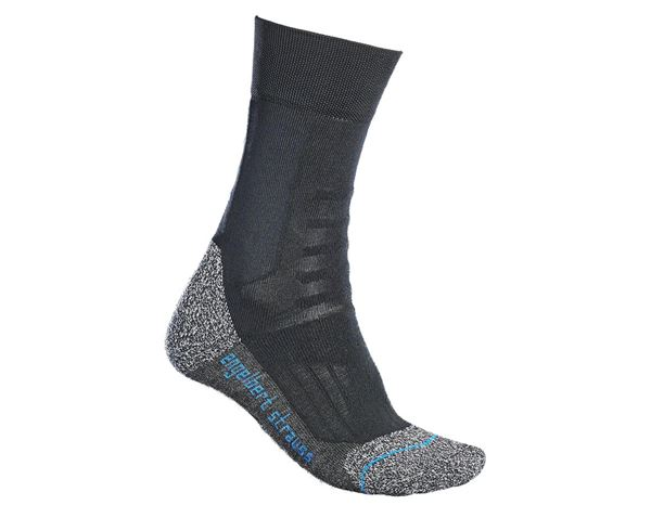 Funktionssocken: e.s. Allround Socken Function cool/high + schwarz