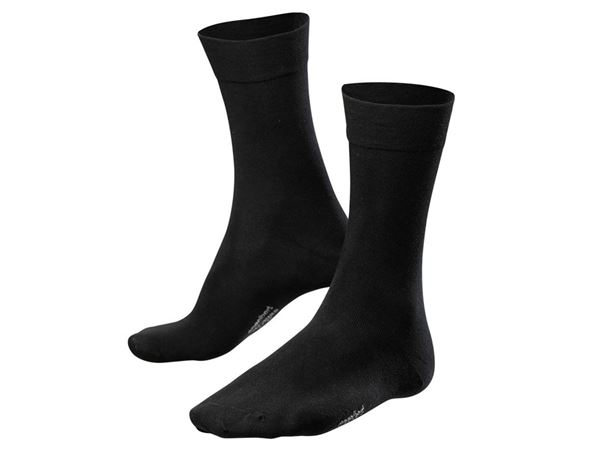 Socken: e.s. Business Socken classic light/high, 2er Pack + schwarz