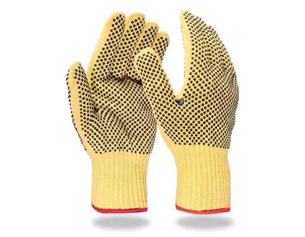 Beschichtet: Aramid-Strickhandschuhe Safe Point