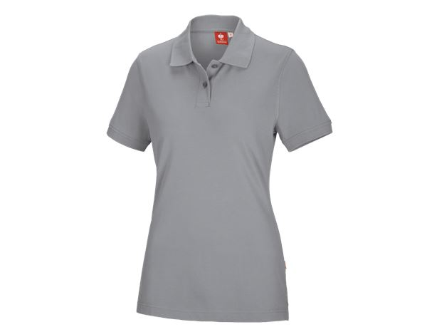 Shirts & Co.: e.s. Polo-Shirt cotton, Damen + platin