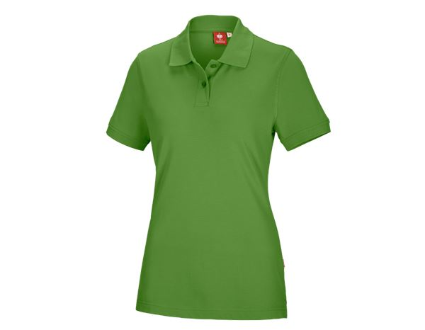 Shirts & Co.: e.s. Polo-Shirt cotton, Damen + seegrün