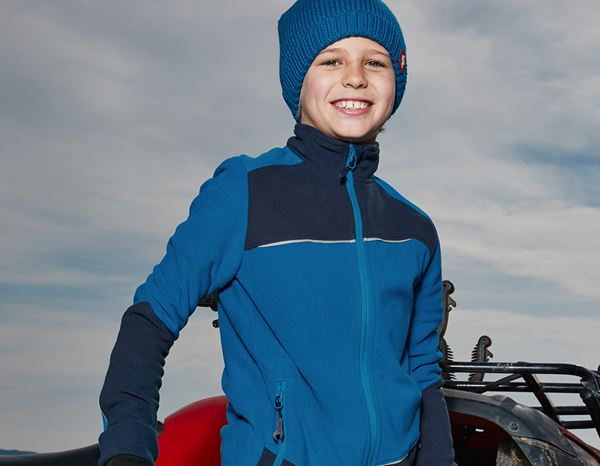 Jacken: Fleece Jacke e.s.motion 2020, Kinder + atoll/dunkelblau 1