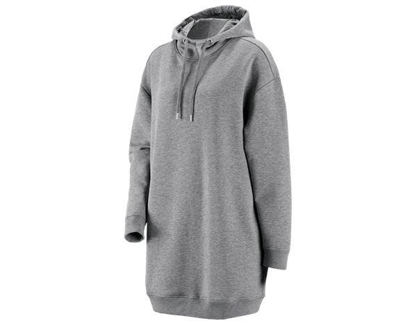 e.s. Oversize Hoody Sweatshirt poly cotton, Damen