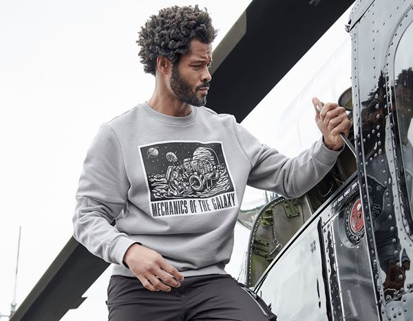 Shirts & Co.: e.s. Sweatshirt Mission 2020 + platin 1
