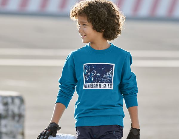 Shirts & Co.: e.s. Sweatshirt Mission 2020, Kinder + atoll