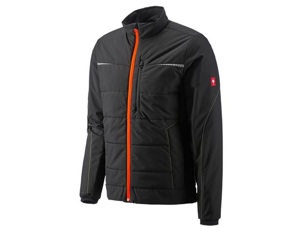 Winterjacken: Windbreaker e.s.motion 2020 + schwarz/warngelb/warnorange