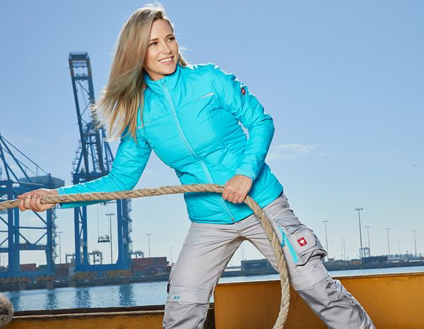 Jacken / Westen: Windbreaker e.s.motion 2020, Damen + capri/platin 1