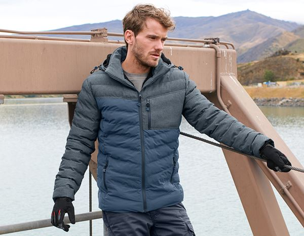 Jacken: Winterjacke e.s.motion ten + schieferblau