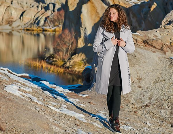 workwear couture: Elements of Earth Woolcoat + moon grey