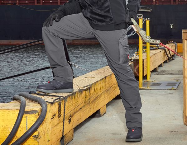 Hosen: Funktions Cargohose e.s.dynashield solid + anthrazit