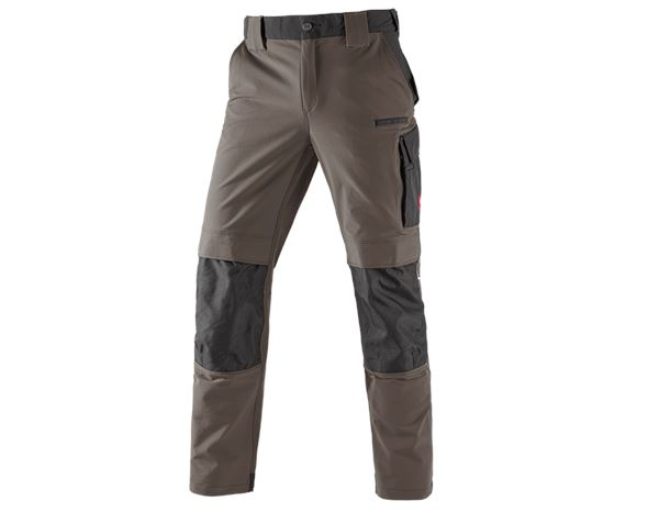 Hosen: Winter Funktions Bundhose e.s.dynashield + stein/schwarz