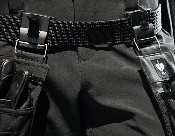 Herren: Stunt'n'Media Utility Belt + black